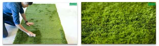 วิธีติดตั้งหญ้าเทียม