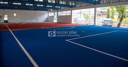 สนามฟุตบอลทดสอบหญ้าเทียม