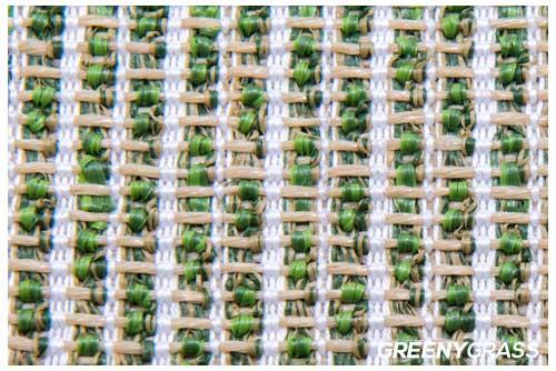 แผ่นรองหญ้าเทียม weaving