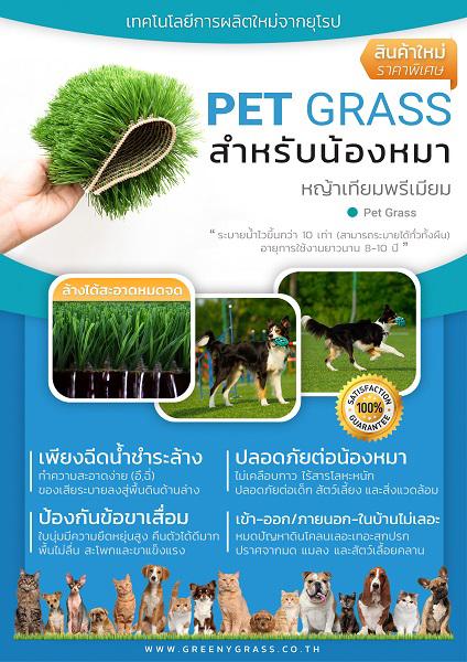หญ้าเทียมสุนัข PET GRASS