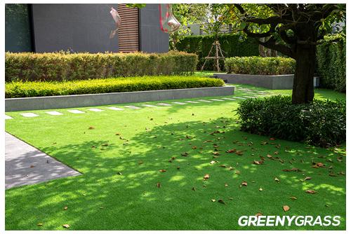 ติดตั้งหญ้าเทียม