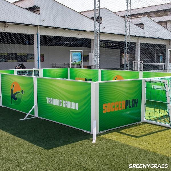 สนามฟุตบอลสำเร็จรูป soccer play