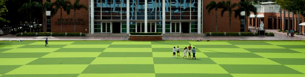 สนามเด็กเล่นหญ้าเทียม