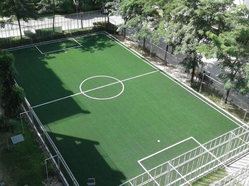 สนามฟุตบอลหญ้าเทียม Lumpini Condo Town ชลบุรี