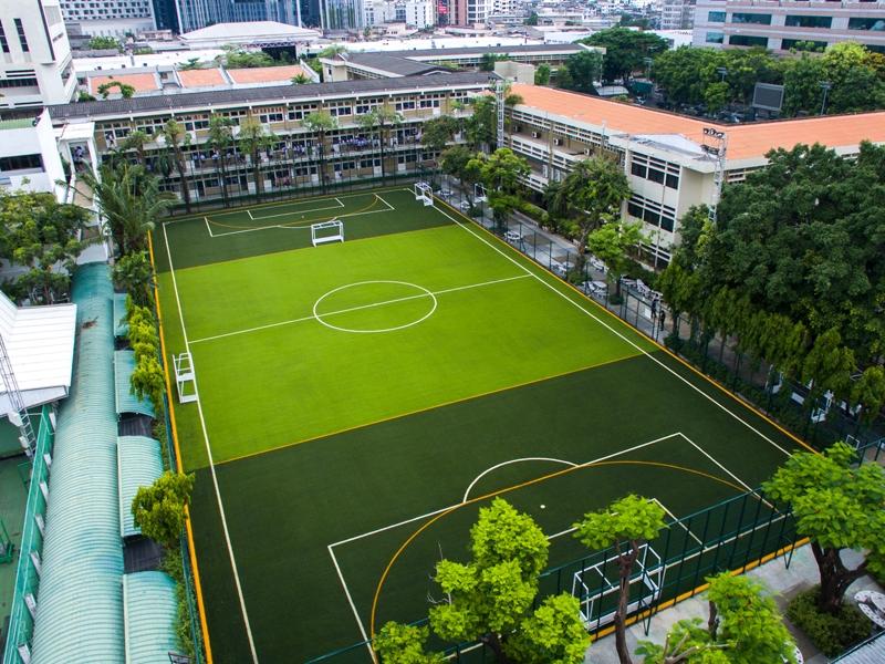 สนามฟุตบอลหญ้าเทียม สาธิตจุฬา ฝ่ายมัธยม