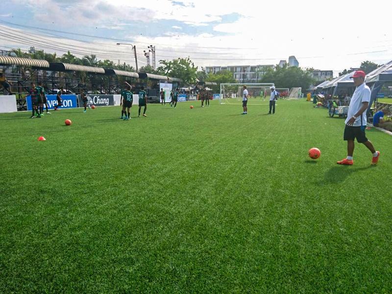 สนามฟุตบอลไทยเบฟ(สนามซ้อม) ThaiBev Football Academy