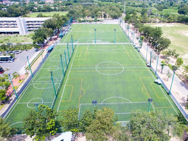 สนามฟุตบอลหญ้าเทียม11คน โรงเรียนอัสสัมชัญ ศรีราชา