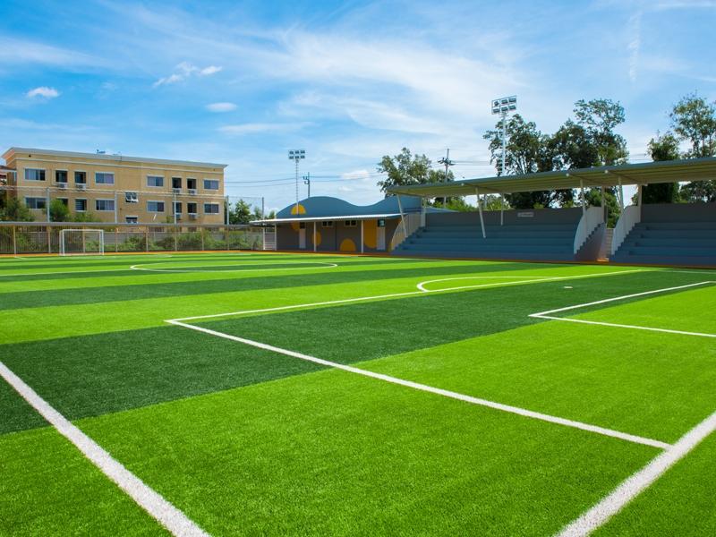 สนามฟุตบอลหญ้าเทียม รร.นานาชาตินอริช พระราม2