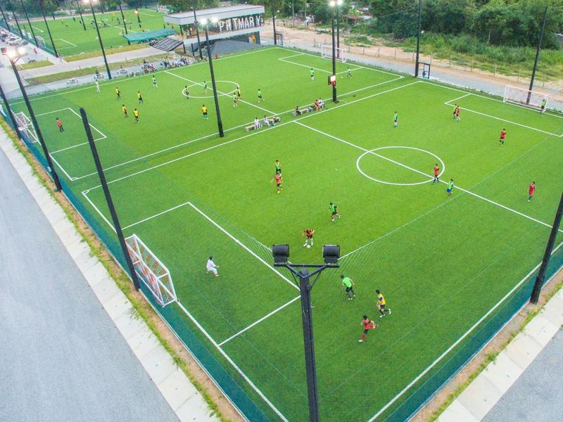 สนามฟุตบอลหญ้าเทียม Primary@rayong ระยอง