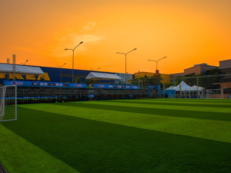 สนามฟุตบอลหญ้าเทียม ห้างเมกาบางนา