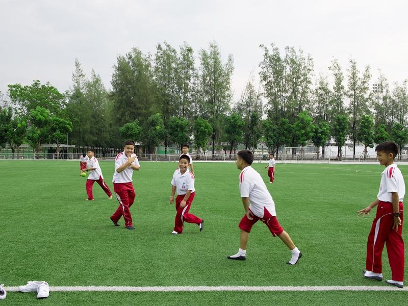 สนามฟุตบอลหญ้าเทียม โรงเรียนอัสสัมชัญ ศรีราชา