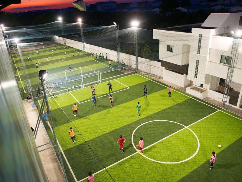 สนามฟุตบอลหญ้าเทียม Soccer Play