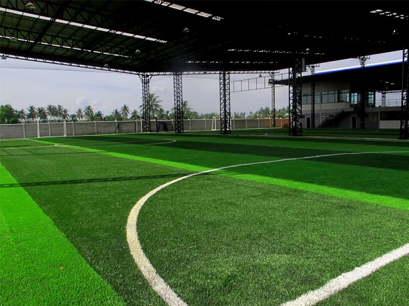สนามฟุตบอลหญ้าเทียม หมู่บ้าน บุญยกร