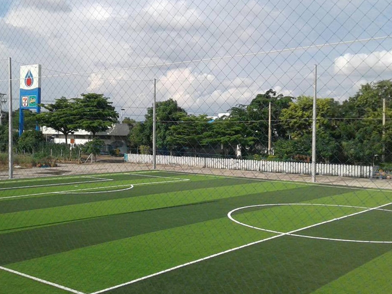 สนามฟุตบอลหญ้าเทียม โรงงานข้าวโพด สระบุรี