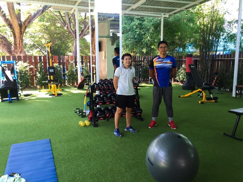 ปูหญ้าเทียม K Sport Club Karuna Academy