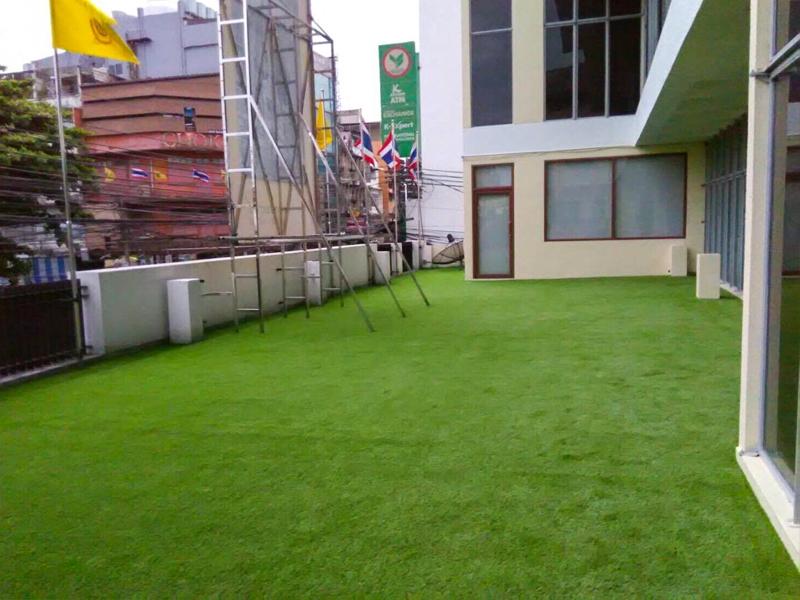 หญ้าเทียมปูระเบียง มูลนิธิมหามกุฏราชวิทยาลัย