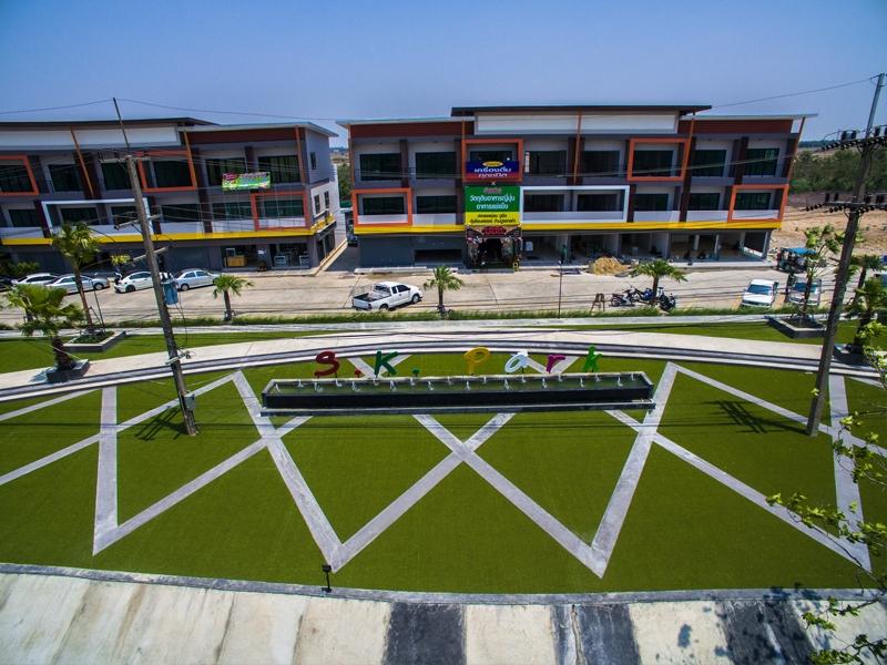 สวนหญ้าเทียม S.K.Park อยุธยา