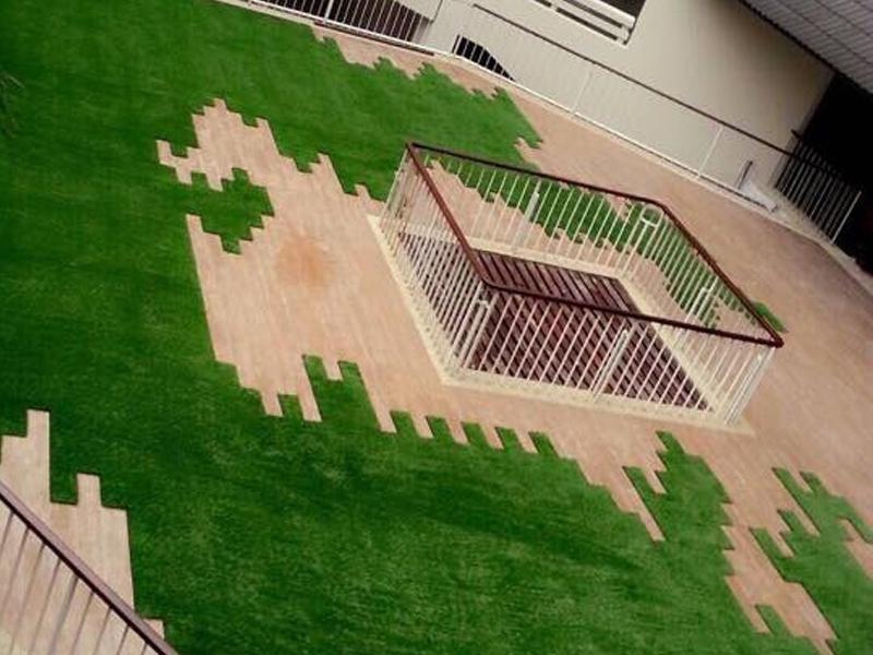 หญ้าเทียมตกแต่งพื้น The Regent Cha Am Beach Resort