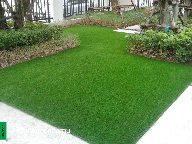 จัดสวนพร้อมกรีนพัตต์กอล์ฟหญ้าเทียม หมู่บ้านลัดดารมย์ บางนา