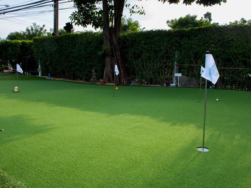 กรีนพัตต์กอล์ฟหญ้าเทียม พร้อมสนามในบ้าน