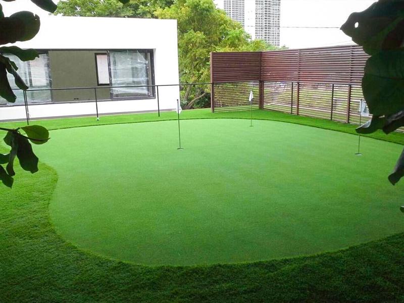 กรีนพัตต์กอล์ฟหญ้าเทียม LAKE SIDE VILLA 1