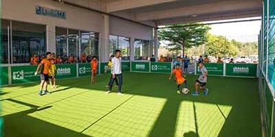 พบกับสนามฟุตบอล soccer play ได้ที่นครราชสีมา มาสด้าเอฟซี