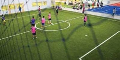สนามฟุตบอลหญ้าเทียม ทดสอบ