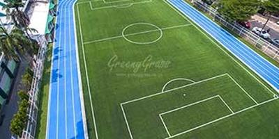 โครงการเปลี่ยนหญ้าสนามฟุตบอลเทพหัสดิน(สนามซ้อม)