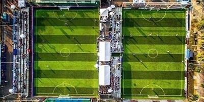 สร้างสนามฟุตบอลหญ้าเทียม งานแข่งขันฟุตบอลสมัครเล่นชิงแชมป์โลก