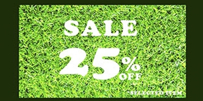 โปรโมชั่น หญ้าเทียมกรีนนี่ เดือนมกราคม 59