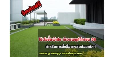 แค่คลิก!! สวนก็สวย สั่งหญ้าเทียมออนไลน์กับเรา greenygrassshop