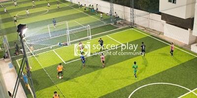 สนามฟุตบอลหญ้าเทียมมาตรฐาน Soccer Play