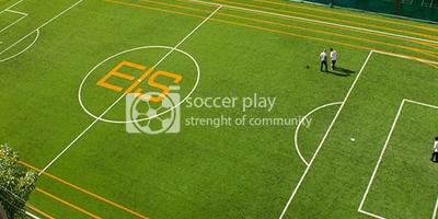 สนามฟุตบอลหญ้าเทียมเอนกประสงค์ โรงเรียนนานาชาติเอกมัย