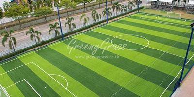 สร้างสนามฟุตซอล-ฟุตบอลหญ้าเทียม มาตรฐานFIFA2STAR