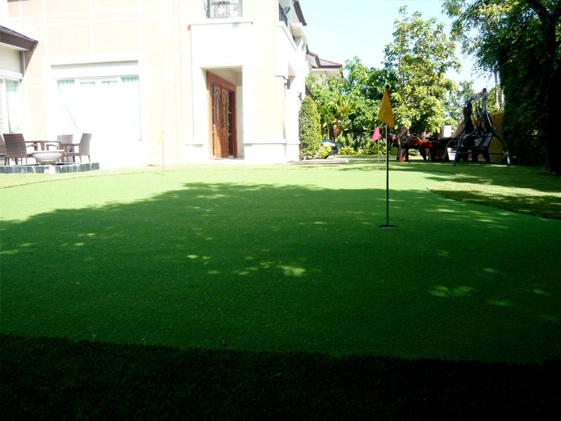 สนามพัตต์กอล์ฟหญ้าเทียม คุณหลิน หมู่บ้าน Plazzo สุขสวัสดิ์64