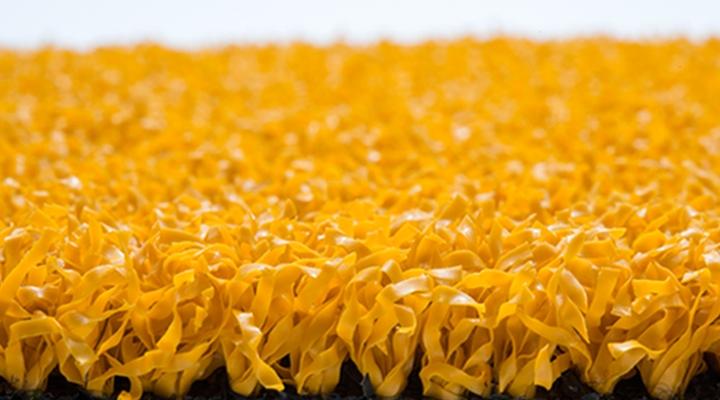 พื้นสนามกีฬาอเนกประสงค์ M-145 สีเหลือง (1 cm.)