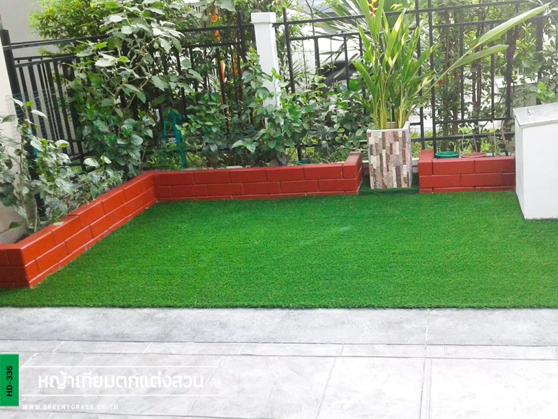จัดสวนหญ้าเทียม หมู่บ้าน Centro วัชพล