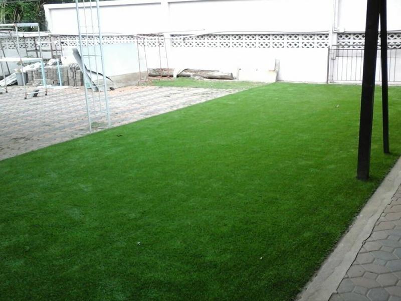 จัดสวนหญ้าเทียม รามอินทรา39