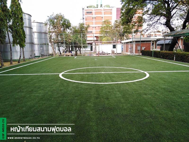 สนามฟุตบอลหญ้าเทียม บริษัท อายิโนะโมะโต๊ะ