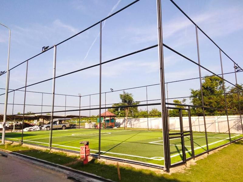 สนามฟุตบอลหญ้าเทียม บริษัท ทีเอส เทค