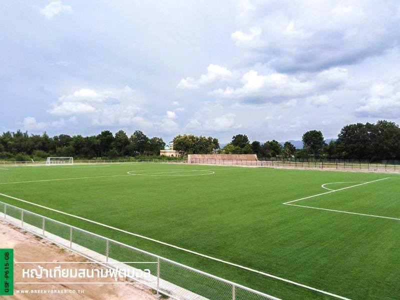สนามฟุตบอลหญ้าเทียมมาตรฐาน โรงเรียนกีฬาจังหวัดลำปาง