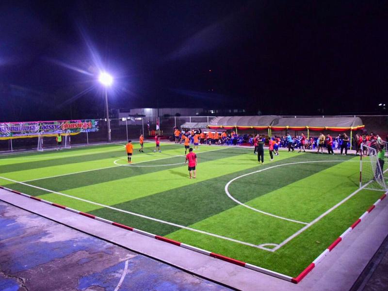 สนามฟุตบอลหญ้าเทียม ค่ายรามสูร