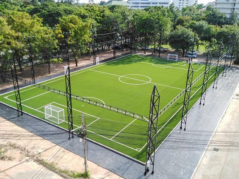 สนามฟุตบอลหญ้าเทียม มหาวิทยาลัยราชภัฏอุบลราชธานี