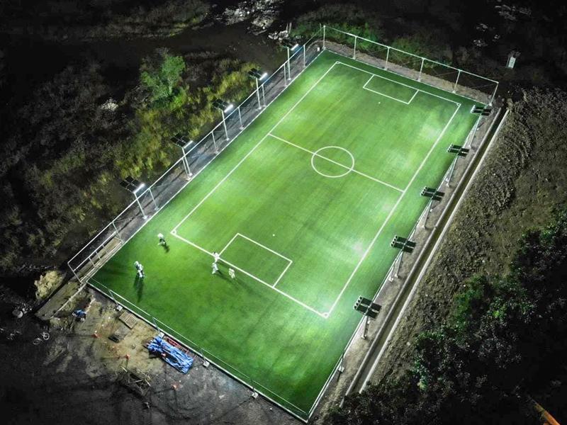 สนามฟุตบอลหญ้าเทียม บริษัท Honda R&D Asia Pacific