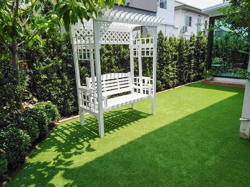 สวนสวยด้วยหญ้าเทียม Villaggio พระราม 2