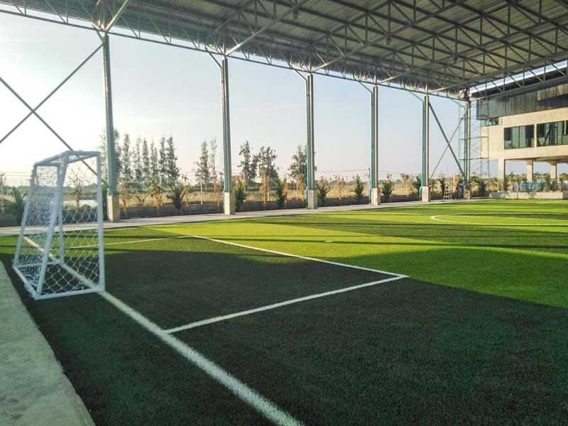 สนามฟุตบอลหญ้าเทียม toyota thailand workers' union