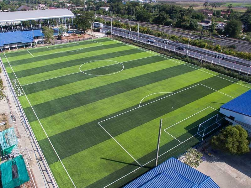 สนามฟุตบอลหญ้าเทียม โรงเรียนบางปะอิน