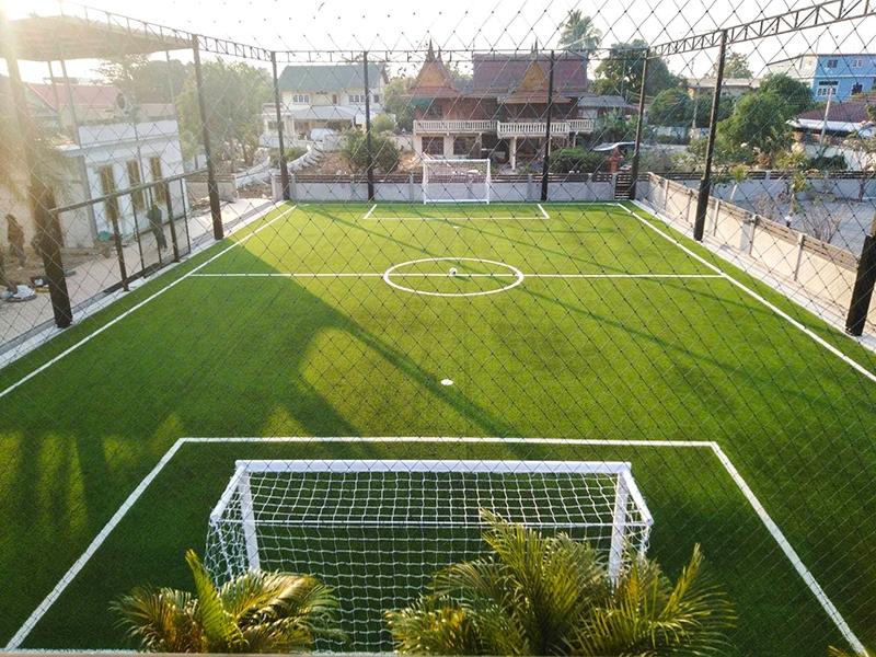 สนามฟุตบอลหญ้าเทียม บริษัท สปอร์ต แอคติเวชั่น