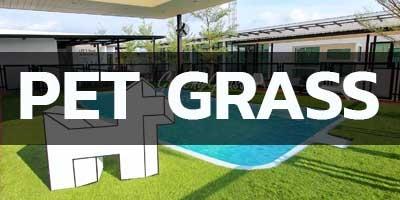 PET GRASS หญ้าเทียมสำหรับสัตว์เลี้ยง
