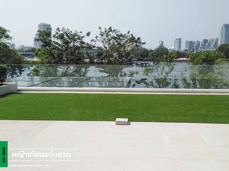 แต่งสวนหญ้าเทียมดาดฟ้า Four seasons private residences